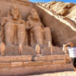 Statue di Ramses II, Tempio di Abu Simbel, Nubia, Egitto