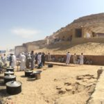 Festival dei Datteri, Gebel Dakrour, Colle roccioso, Oasi di Siwa, Egitto