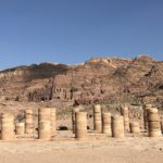 Petra, Parco Archeologico, Valle Rocciosa, Hiking, Giordania