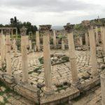 Rovine Archeologiche Romane, Teatro, Jerash, Giordania