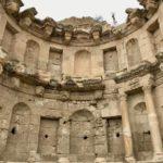 Rovine Archeologiche Romane, Ninfeo, Jerash, Giordania