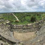 Rovine Archeologiche Romane, Teatro, Irbid, Umm Qays, Giordania
