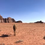 Cammello, Deserto Rosso, Golem di Roccia, Wadi Rum, Lawrence d'Arabia, Giordania