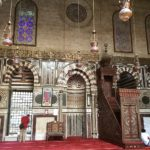 Mirhab, Moschea di Al Muizz Street, Khan al Khalili, Cairo Islamica, Egitto