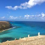 Spiaggia paradisiaca, Palme, Acqua Cristallina, Mersa Matruh, Mediterraneo, Egitto