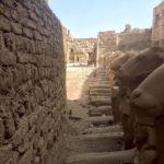 Sfingi criocefale, Corpo di Leone e testa di Ariete, Tempio di Karnak, Luxor, Egitto
