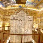 Valle dei Re, Tomba di Ramses IV, KV2, Bassorilievi e Geroglifici Egizi, Luxor, Riva Ovest, Egitto